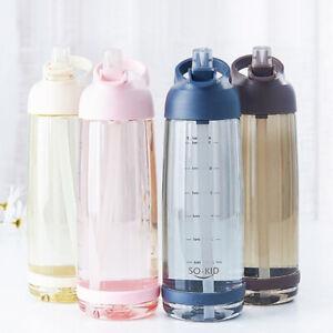 550-850-1000ml-capacite-de-Paille-Bouteille-d-039-eau-sports-de-plein-air-drinkware-avec-paille