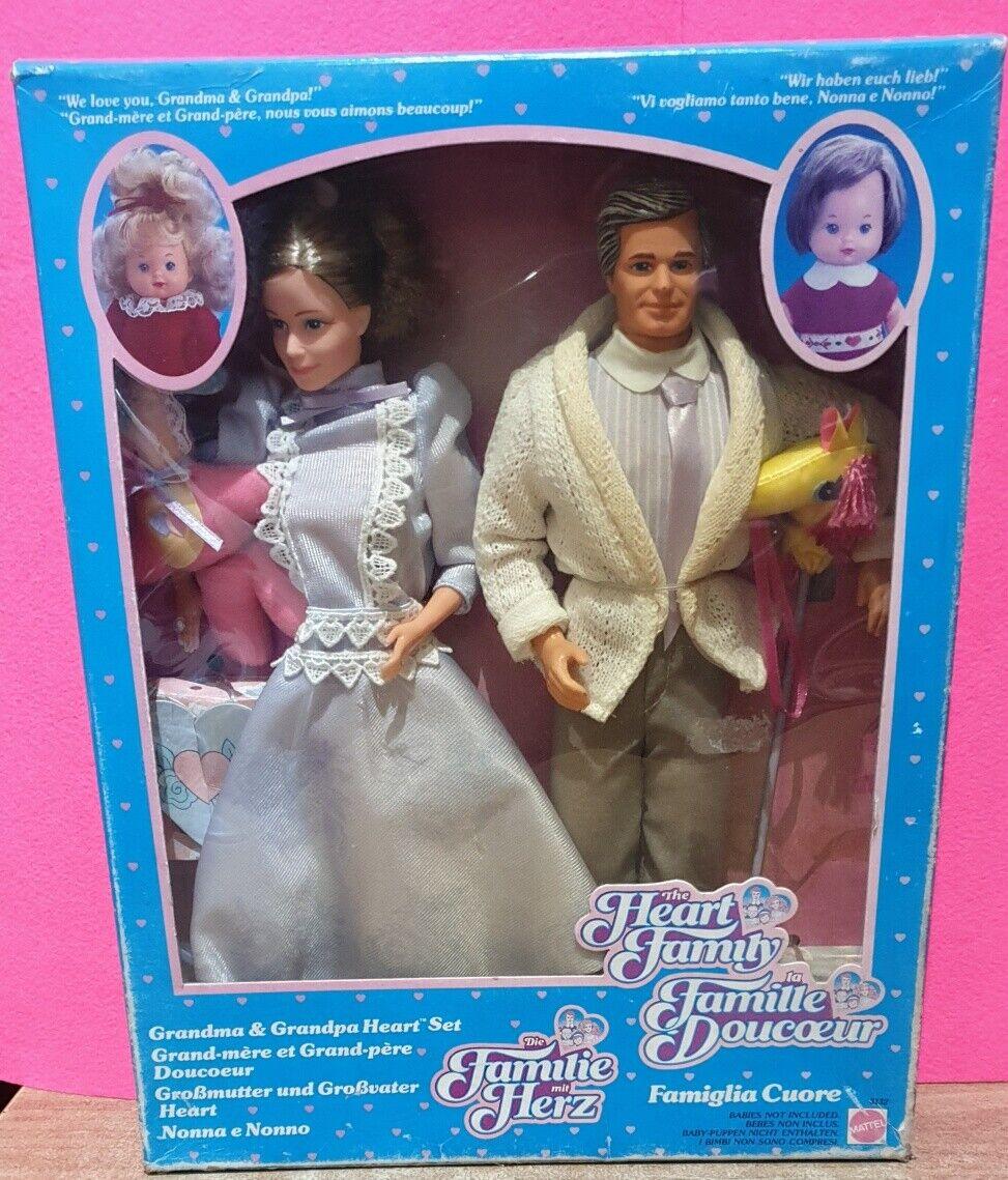 The Heart Family Mattel Nonni Grandpa & Grandma Vintage 86'