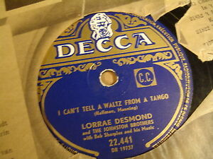 78T-LORRAE-DESMOND-I-CAN-039-T-TELL-A-WALTZ-FROM-A-TANGO-FOR-BETTER-FOR-WORSE