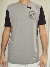 NEW RIP CURL MEN STAMP OUT CUSTOM OVERDYE LARGE TEE T SHIRT GREY CC38