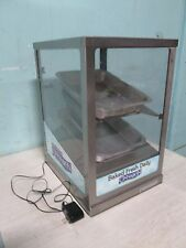 Round Up Commercial Hd Lighted Bakery Counter Top Merchandiserdisplay Case
