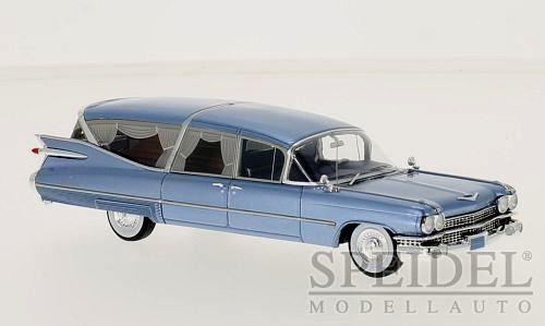 Merveilleux néo-MODELCAR ILLAC s&s Superior Corbillard 1959-Bleu Métallisé - 1 43