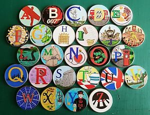 2018-coloured-10p-coin-stickers-prof-made-high-quality-and-colour-x-26-new
