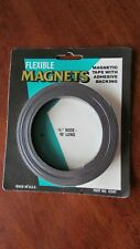 Msi Flexible Magnetic Tape High Tack Adhesive Backing 12 Wide X 10 Long