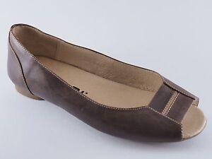 Détails sur Tatami Lic. By Birkenstock Chaussures Lucilia 37 Escarpins Cuir Marron Neuf