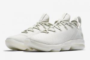 New Nike Lebron XIV 14 Low Basketball Shoes Light Bone 878636-004 Men/'s DS Weave