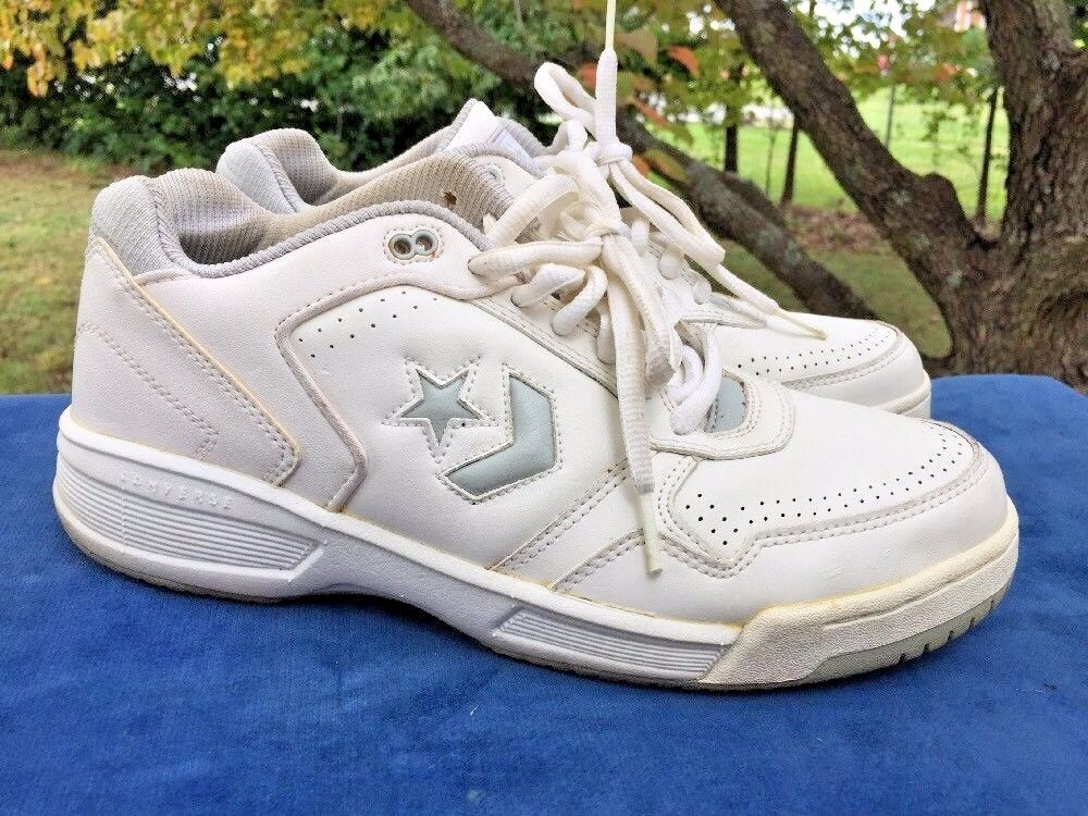 SALE @ CONVERSE All Star LEATHER Fashion Athletic Sneakers Mens Shoes Sz 8.5