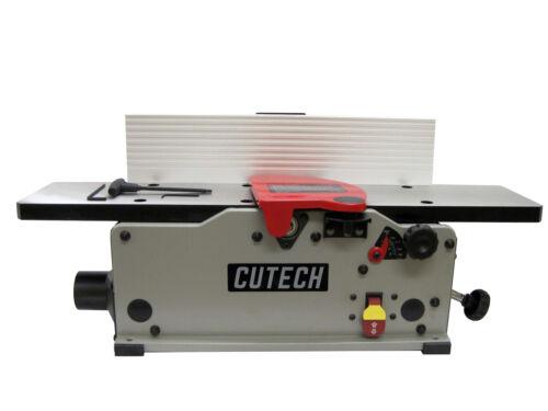 """Cutech 40160H-CT 6/"""" Bench Top Spiral Cutterhead Jointer"""