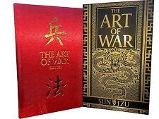 The Art of War Book Deluxe Special Gift Slipcase Hardback Box Set Ver - Sun Tzu