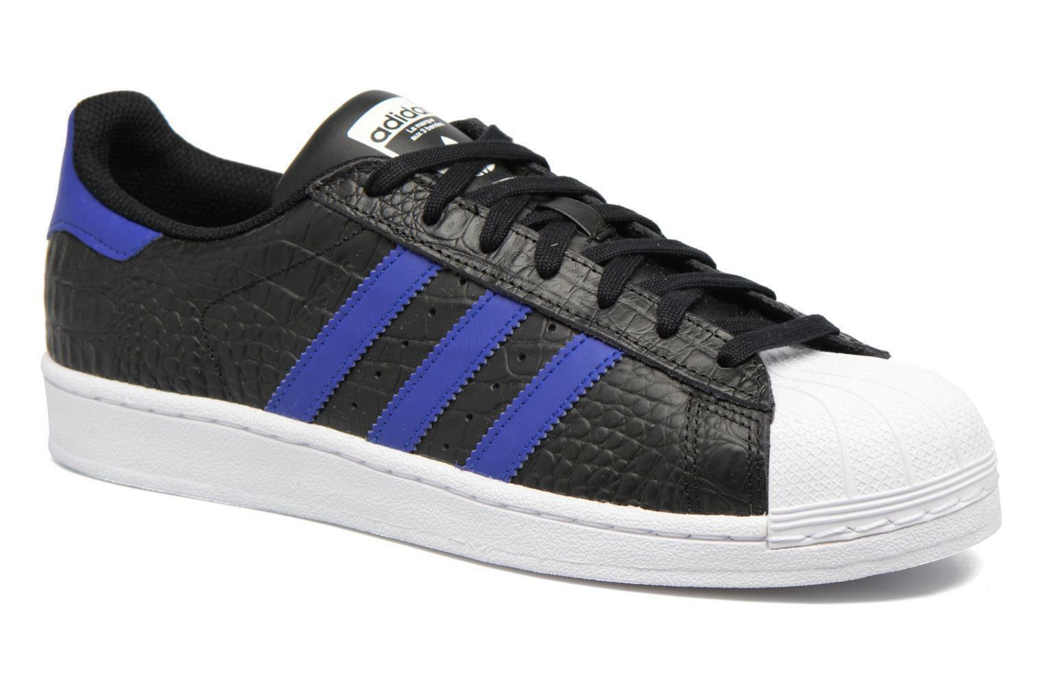 Adidas Originals Superstar Animal Mens Trainers Sneakers Shoes - BZ0196 - Black