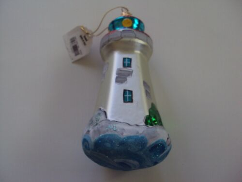 Lighthouse Christmas Ornament Italy New With Tags