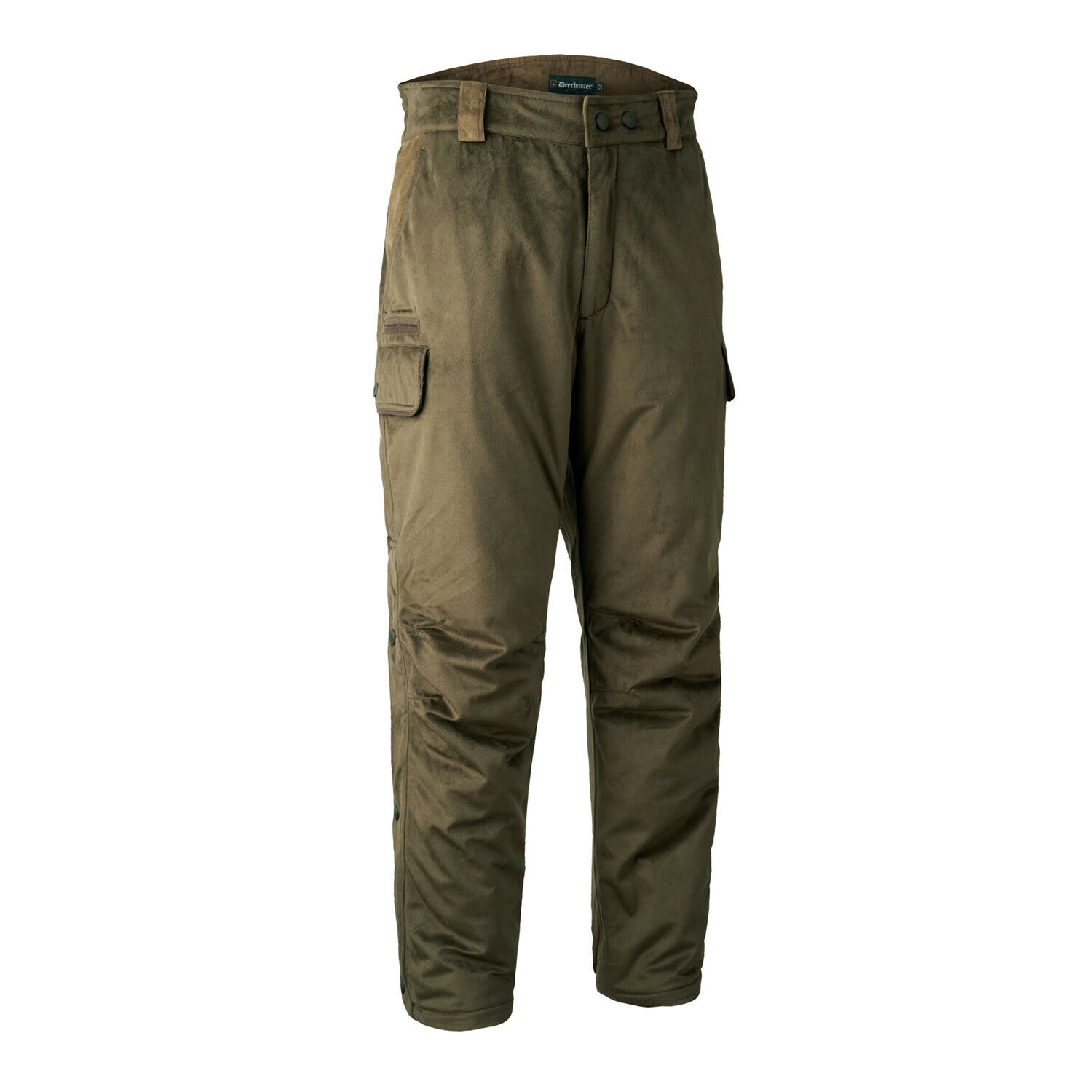 Hunting Trousers PCS silent for Winter quietly with membrane 391-Peat from Deerhunter 3085