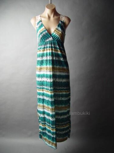 Sale Ikat Print Tribal Boho Goddess Empire Waist Sun Long Maxi 13 mv Dress M L