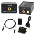 3,5mm Digital Optical Toslink koaxial zu Analog RCA L/R Audio Konverter Adapter