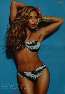 BEYONCE-KNOWLES-A3-Poster-ca-42-x-28-cm-Clippings-Fan-Sammlung-NEU