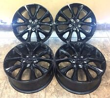 "20"" 20 Inch OEM Dodge Durango Factory Wheels Rims Take Offs Set of 4 2496"