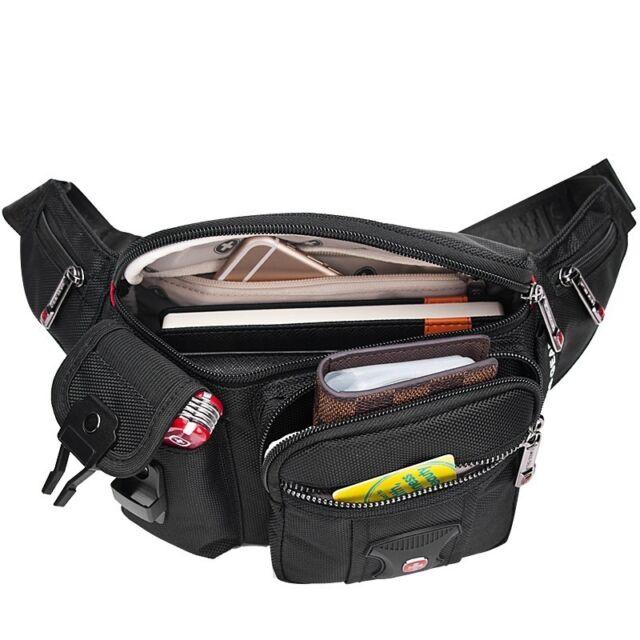 Swiss Gear Running Belt Waist Pouch Travel Pocket Sports Chest Bag Fanny Pack