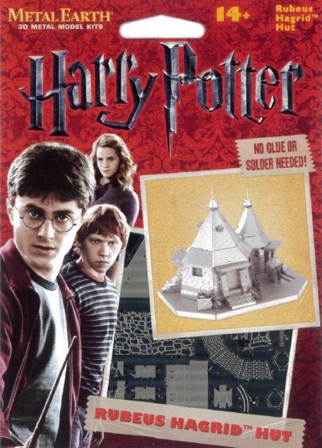 Harry Potter Rubeus Hagrid Hut Metal Earth 3D Model Kit FASCINATIONS