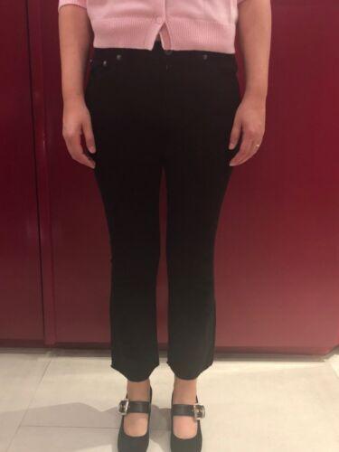 Pantalone Nero Costine Art 1602 Velluto dp8038 Sconto 30 Ottod'ame 64dqnSwx4