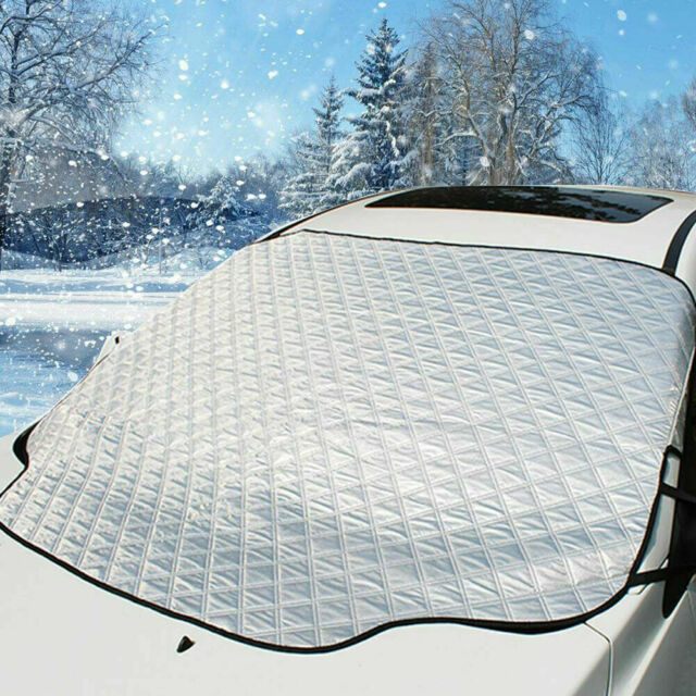 Magnetic Car Windshield Snow Cover Winter Ice Frost Guard Sun Shade Protector