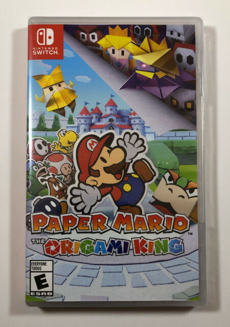 Paper Mario: The Origami King (Nintendo Switch, 2020) Fast Free Shipping