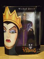 NIB Disney Villians Snow White Wicked Queen Doll Limited Edition