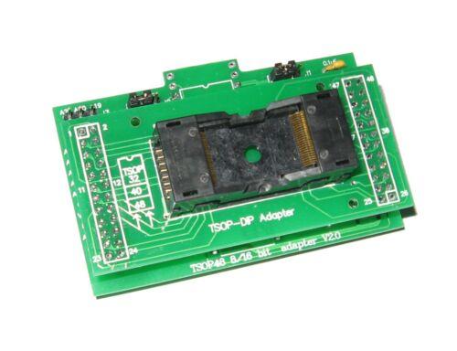 GQ-4x4 TSOP 48 Kit d/'adaptateur EEPROM puce ADP-003 ADP-042 PRG-110