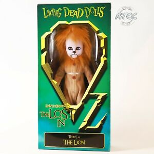 LIVING-DEAD-DOLLS-LOST-WIZARD-OF-OZ-LION-TEDDY-ACTION-FIGURE-TOY-NEW