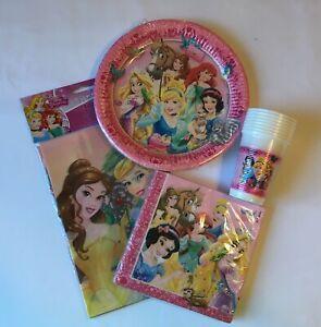 Disney-Princess-Party-Supplies-Tableware-Bundle