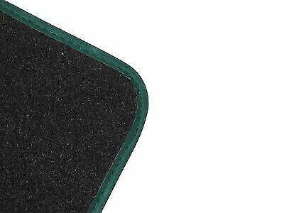 08-14 Premium Black Carpet Floor Mats 4pc Colour Trim Set for Jeep Cherokee