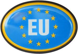 Europa-EU-Flagge-Schild-Relief-Emblem-HR-Art-15855-Kristalldekor-Aufkleber
