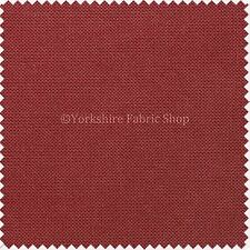 EASY CLEAN IMPERMEABILE Plain Fabric outdoor indoor tappezzeria cortina ARTIGIANALE ROSSO