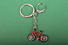 Schlüsselanhänger Fahrrad rot Geschenkartikel Anhänger Souvenier Geschenk Rad