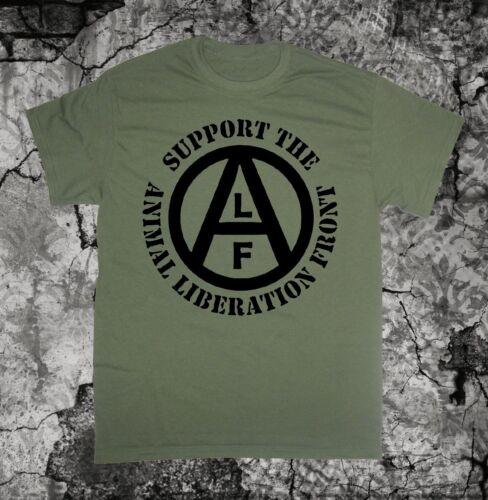Animal Liberation Front Shirt Vegan Vegetarian Rights Welfare Human Earth ALF