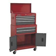 Nueva herramienta de metal Pro Caja superior de almacenamiento de información en la parte delantera superior y Roller Gabinete Caja de herramientas de stanlokNo.2por0X      AceroInoxidable 25piezas