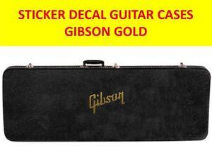 Gibson Gold Sticker Guitar Cases Product On Sale Until End Of Stock Fixation Des Prix En Fonction De La Qualité Des Produits