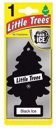Little Trees BLACK ICE Air Freshener with Free Delivery (PE1044)