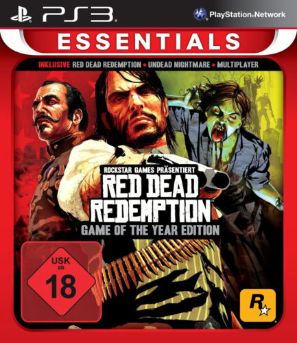 1 von 1 - Red Dead Redemption -- Game of the Year Edition (Sony PlayStation 3, 2015)