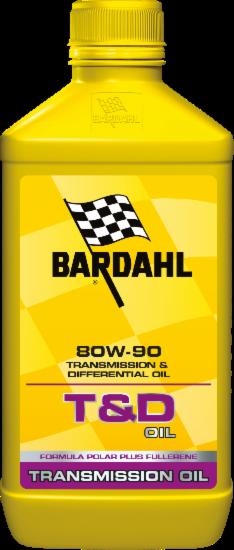 Aceite Coche Bardahl Bardhal T&d Oil 80W90 Abejas GL-5 - 1 Litro Lt