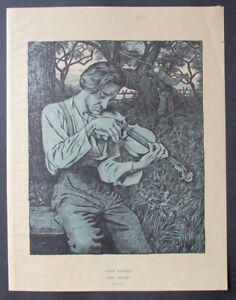 Hans Thoma della Geiger algraphie 1895 PAN