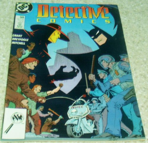 Detective Comics 609 9.2 1989 Anarky in Gotham City 50/% off Guide! NM-