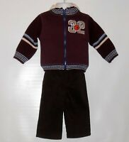 Boyz Wear Infant Boys Three (3) Piece Basketball Hoodie T-shirt & Pants Set 12m
