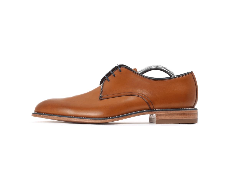 Loake Drake Plain Derby Zapato-tan