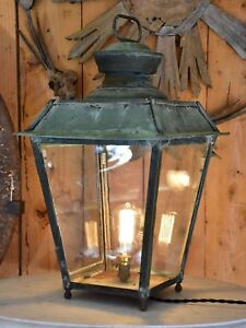 Image Is Loading Antique French Lantern Leon Luchaire Paris