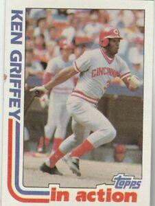 FREE-SHIPPING-MINT-1982-Topps-621-Ken-Griffey-Cincinnati-Reds-PLUS-BONUS-CARDS