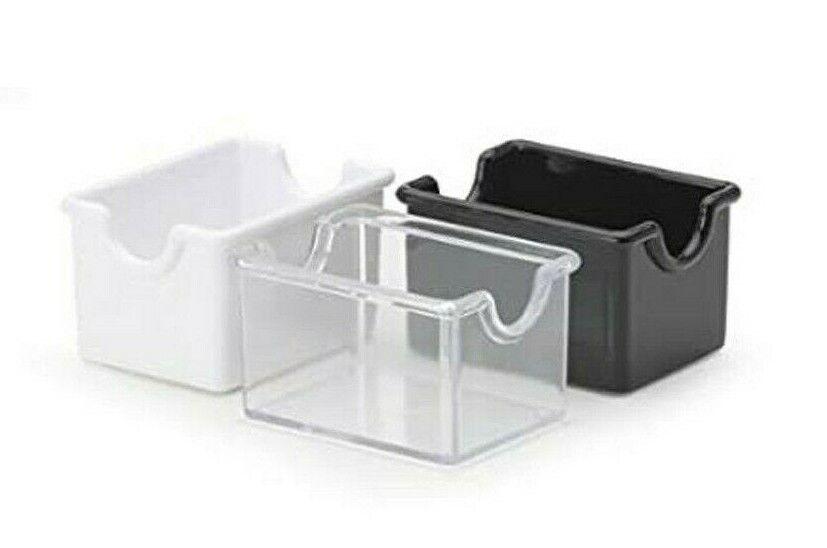 Winco PPH-1K Plastic Sugar Packet Holder Black Sugar Caddies-PPH-1K