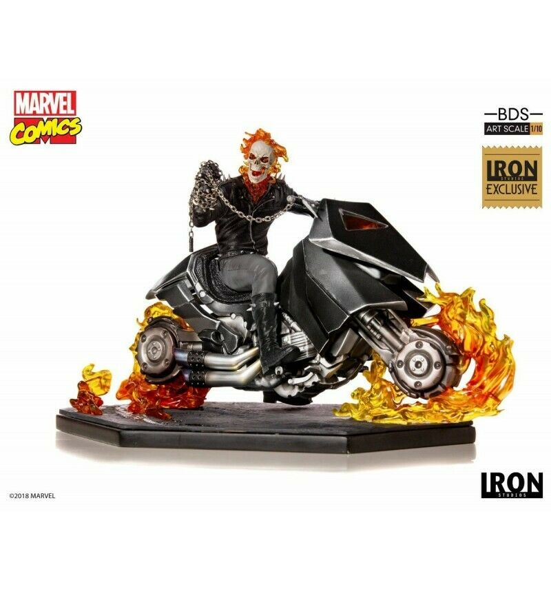 Iron Studios Marvel - BDS Art Scale 1 10 - Ghost Rider - CCXP 2018 Exclusive - 3