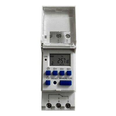 Mikrocomputer LCD Digital programmierbare elektronische Schalter Zeit Timer 220V