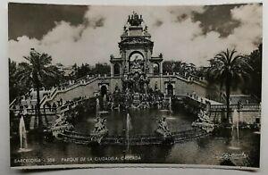 496-Antica-Cartolina-Barcelona-Parque-da-la-Ciudadela