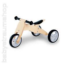 PINOLINO Laufrad Lauflernrad Minilaufdreirad Dreirad Chopper 4in1 CHARLIE natur